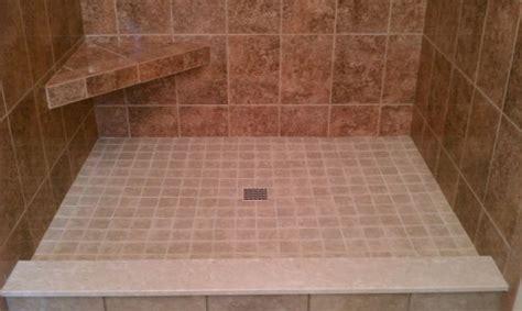 shower pans for tile custom tile shower pans tile company rochester ny