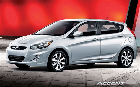 2012 Hyundai Accent Hatchback by 2012 Hyundai Accent Hatchback Front Three Quarters View