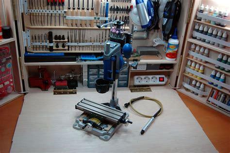 dremel proxxon taller en casa mesas de trabajo