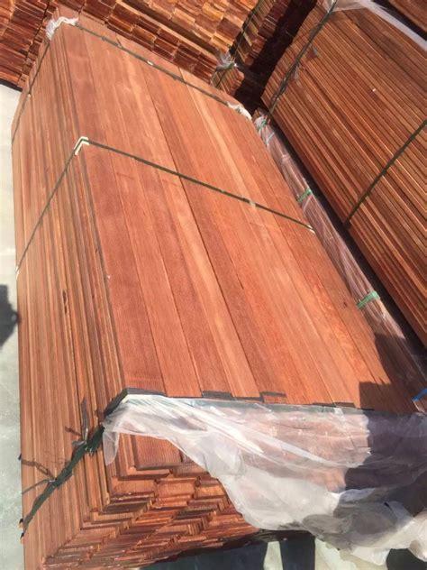 6' 8' x 3/4' custom run merbau long plank hardwood flooring