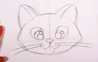 Easy to Draw Cute Cat Drawings