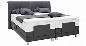 Bett Erhöhen Füße : ella de luxe 180 x 200 cm via stoff 180 x x 200 ~ Buech-reservation.com Haus und Dekorationen