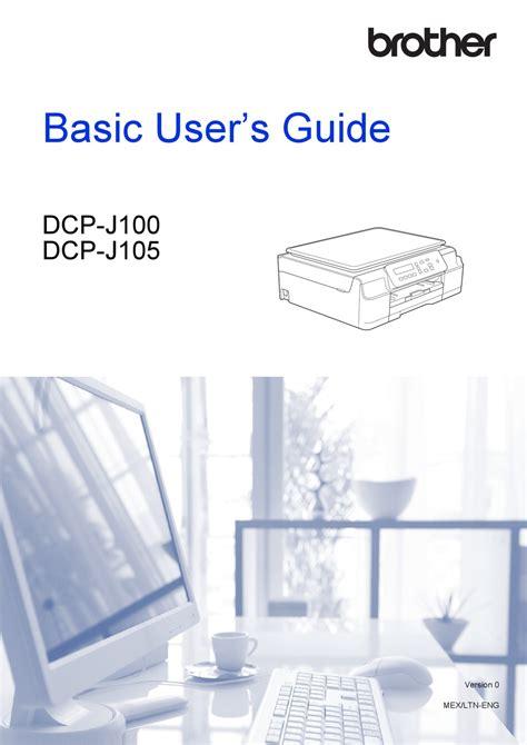 برنامج كامل المزايا وبرامج التشغيل مباشرة من موقع برزر الرسمي ، ستجد تنزيل أحدث برامج. Driver Brother Dcp-J100 - Brother Dcp J100 User Manual Pdf ...