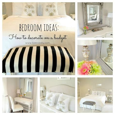 How To Decorate My Bedroom On A Budget Budget Bedroom Decorating Ideas Livelovediy My House
