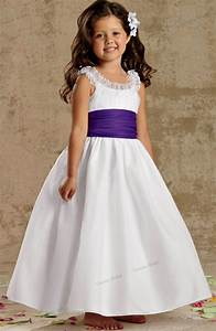 2015 free shipping kids dresses for weddings white organza With kids dresses for weddings