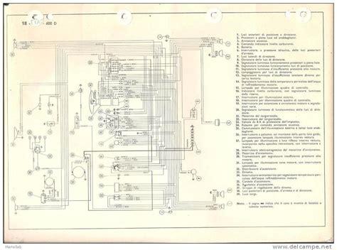 schema elettrico fiat 600 d fare di una mosca