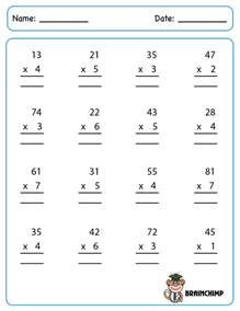 2nd grade subtraction regrouping worksheets 2 digit times 2 digit multiplication worksheets kelpies