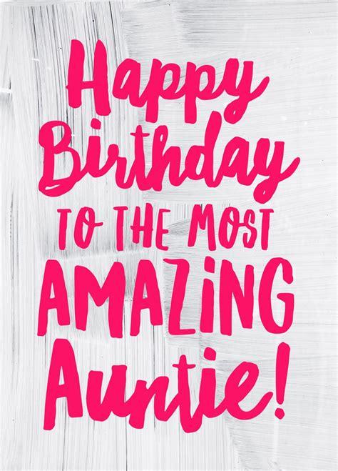 happy birthday auntie card happy birthday auntie happy