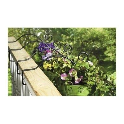 rail planter hook 75 best images about outdoor living on gardens 1711