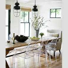 Clear Dining Room Table With Chairs