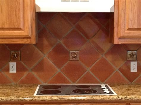 Floor Tile Backsplash : Home Decor Terracotta Kitchen Backsplash Tiles Pictures