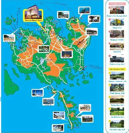 batam mercure batam photo batam island tourism map