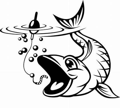 Fishing Fish Hook Clipart Fisch Catching Haken