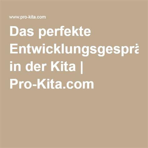 das perfekte entwicklungsgespraech  der kita