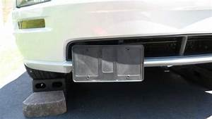 How To Install A Flip Down License Plate Holder