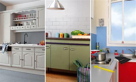 rajeunir sa cuisine repeindre les meubles sol et crédence dans une cuisine