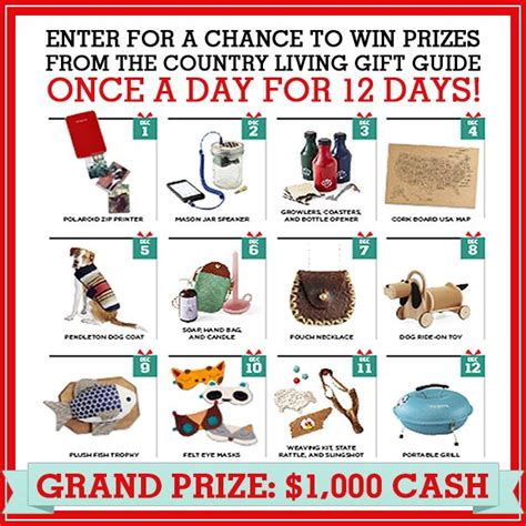 country living sweepstakes 17 best images about sweepstakes promotions on trips set of and riddler