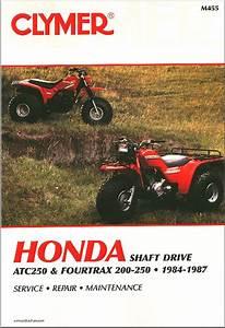 Honda Trx200  Atc250  Fourtrax 250 Atv Repair Manual 1984
