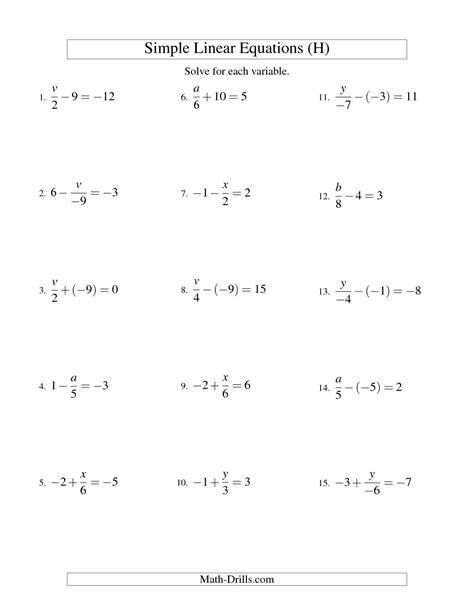 solving equations worksheet pdf breadandhearth