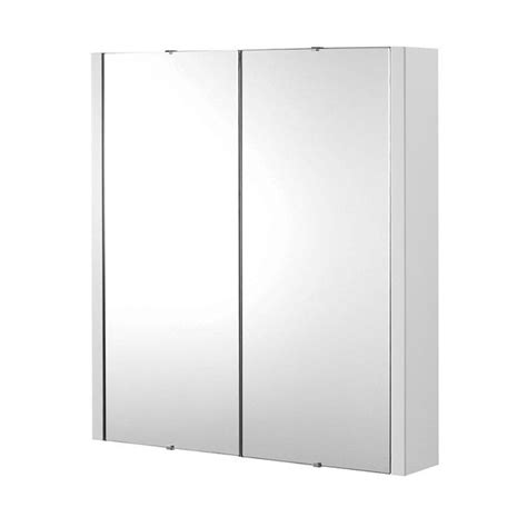 double mirror bathroom cabinet lux 600mm gloss white 2 door mirror bathroom cabinet ebay