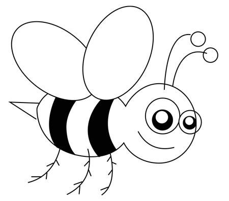 drawn bees cartoon character pencil   color drawn