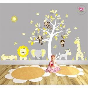 safari fabric nursery wall stickers With nice safari wall decals for nursery
