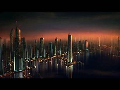 Future Wallpapers Cityscape Cityscapes Futuristic Architecture 3d