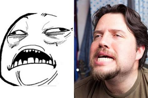 Real Meme Faces - guy making rage faces in real life10 dump a day