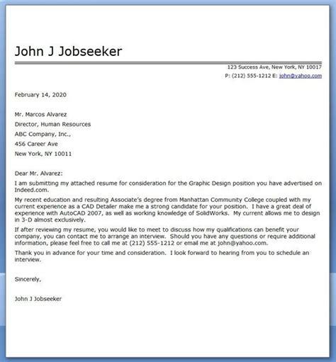 cover letter  sample cover letter  resume job