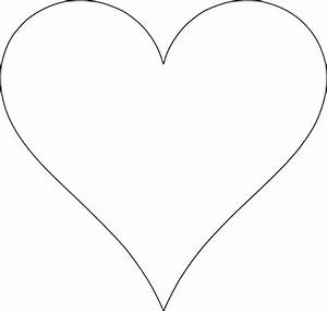 6 free printable heart templates printable hearts heart With heart template for printing