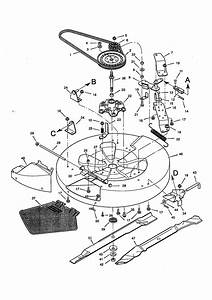 Mower Housing Diagram  U0026 Parts List For Model 536270111