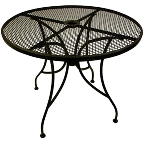 wrought iron table top with base 30 quot at