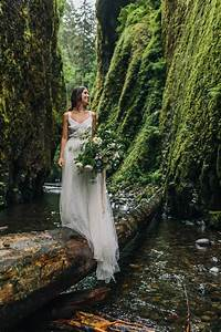 organic riverbed elopement inspiration in oregon With affordable wedding photography portland