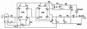 Ir Remote Switch Circuit - Control Circuit