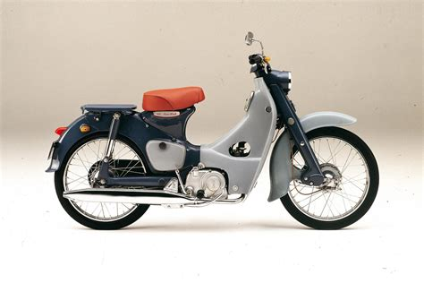 honda cube honda super cub becomes the first vehicle to obtain a