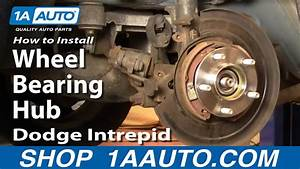 How To Install Repair Replace Rear Wheel Bearing Hub Dodge