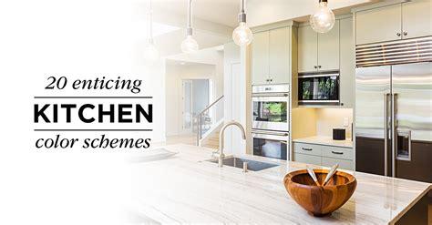 kitchen color scheme ideas 20 enticing kitchen color schemes shutterfly 6565