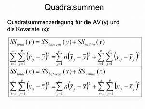 Freiheitsgrade Berechnen Statistik : tutorat statistik ii im ss 09 ancova faktorenanalyse ppt video online herunterladen ~ Themetempest.com Abrechnung