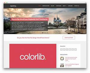 32 free wordpress themes for effective content marketing With world press templates