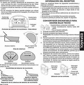 Heathco Wrc6030tx Wireless Pir Motion Sensor User Manual