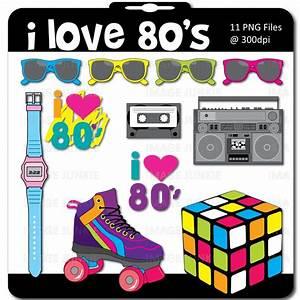 Image detail for -80's Theme Digital Scrapbook Pack ...
