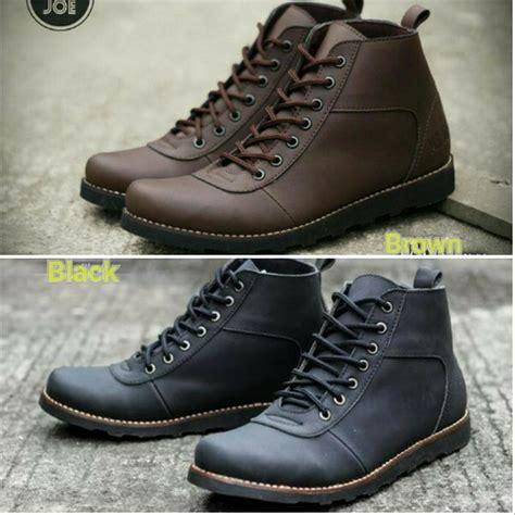 Sepatu Mr Joe Bath jual sepatu pria boots mr joe original brown black dan