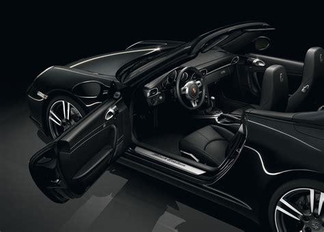 porsche  black edition convertible  cartype