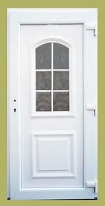 Vchodové dveře plastové 80 cm