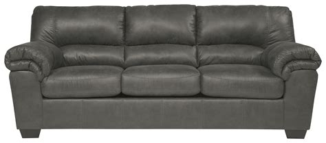 signature design by ashley bladen casual faux leather sofa