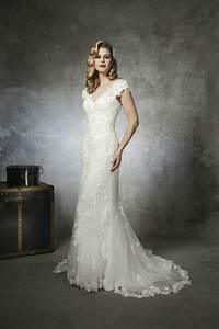 1930s and 1950s inspired gorgeous wedding dresses for 1950s inspired wedding dresses