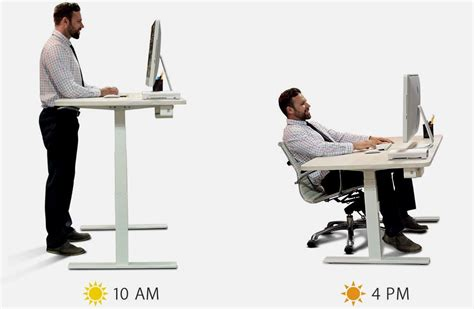how tall should a standing desk be ergonomic solutions for the health comfort of workplace