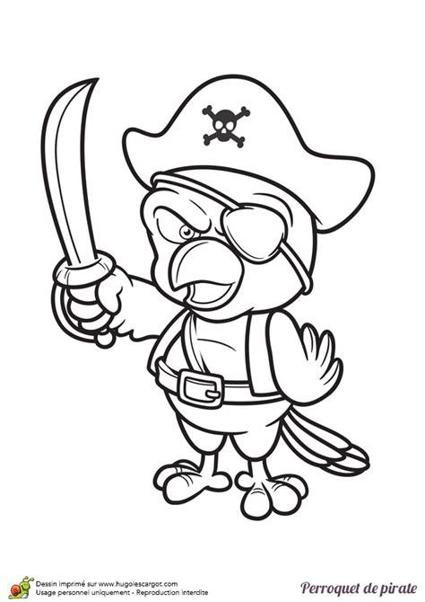 Dessin Bateau Pirate Noir Et Blanc by Dessin 224 Colorier D Un Perroquet De Pirate Avec Un Bandeau