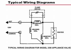 Thermopile Gas Valve Wiring Diagram