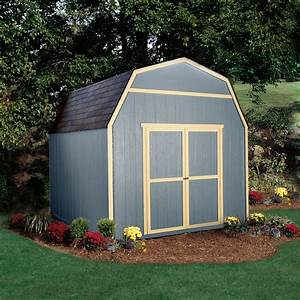10x10 shed with a loft garden storage free installation With backyard shed builders